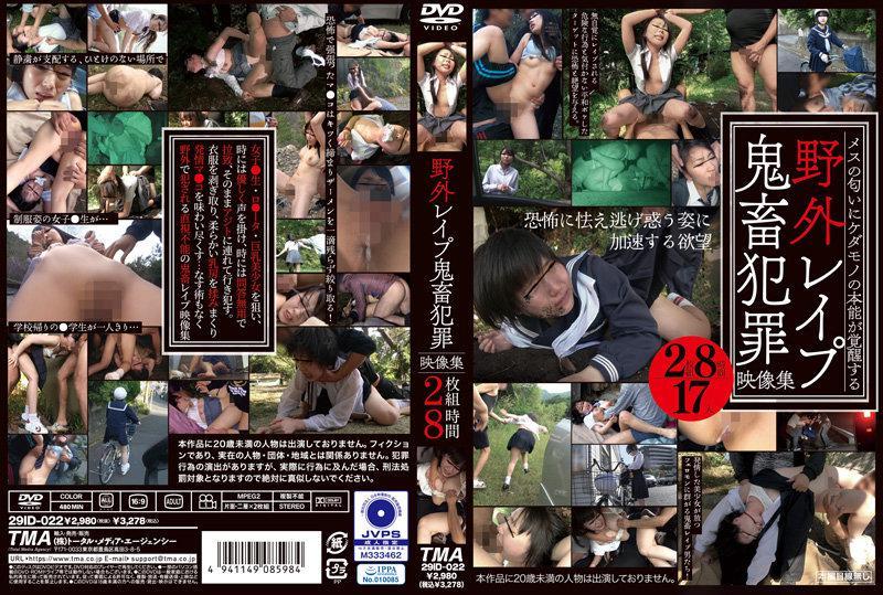 29ID-022 野外レ●プ鬼畜犯罪映像集2枚組8時間