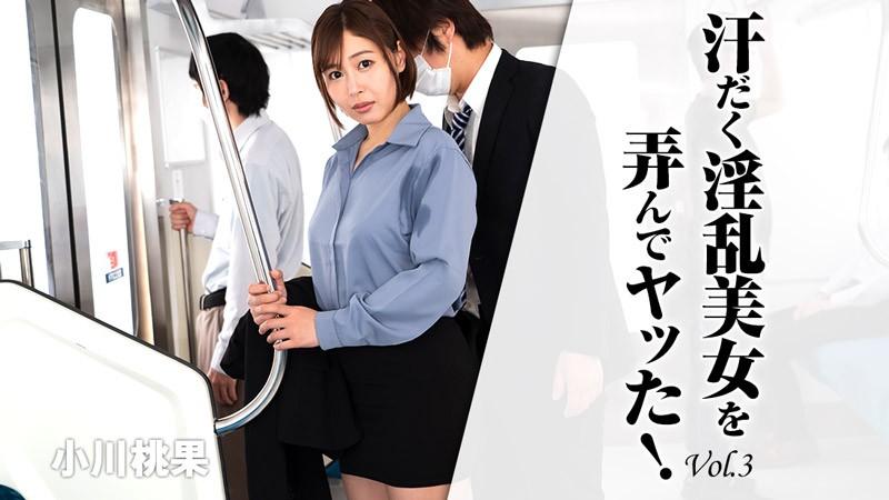 HEYZO-2620 汗だく淫乱美女を弄んでヤッた!Vol.3 – 小川桃果