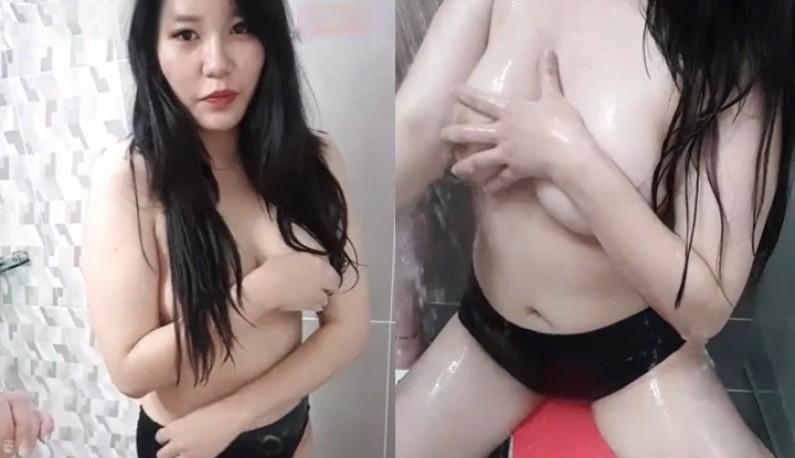 [韓國] 大奶妹妹最愛洗澡~把浴室當成我的直播間~