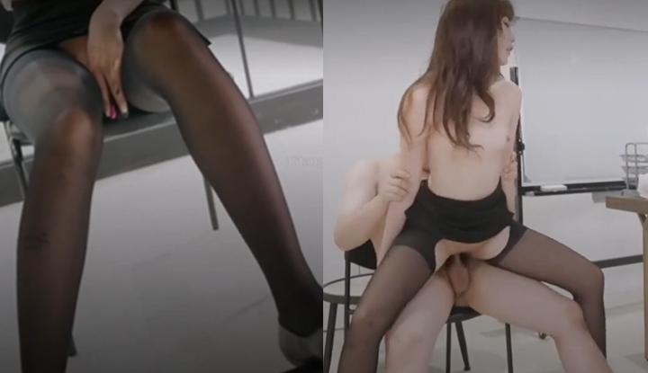 [台灣] SWAG feifeibebe~淫蕩OL塞著跳蛋邊上班,故意露出搭訕別部門的同事