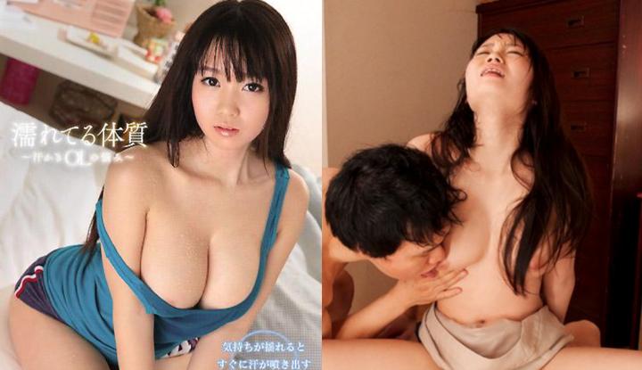 [日本] 夢乃愛華破壞版AV~易濕體質 噴汗OL的煩惱~ (SNIS-432)