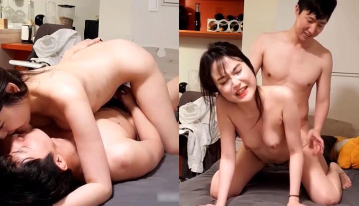 [韓國] 小哥哥終於約到主動的欲女~一上床溫柔親吻炮火連天