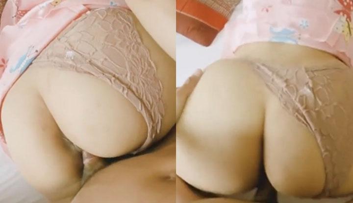 [泰國] 巨乳白嫩少女的電動馬達,直接將男友搖出來~